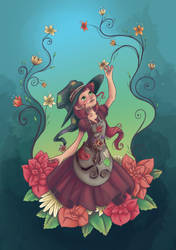 Garden Witch by MaxFeathers