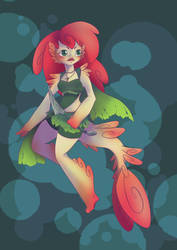 Character Design - Mermaid by MaxFeathers