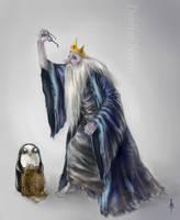 Adventure Time - Ice King (Simon) by Elindiriel