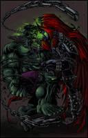 Hulk Vs Spawn by Jats