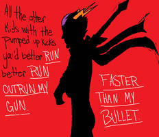 Outrun My Gun by Alienz8LEAD