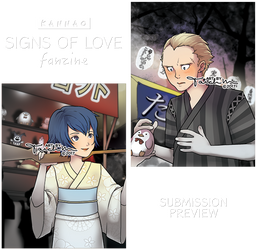 Signs of Love: Fanzine Submission -PREVIEW- by tarahm