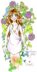 Lush Clovers by tarahm