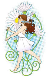 Dances with daisies - Redux by tarahm