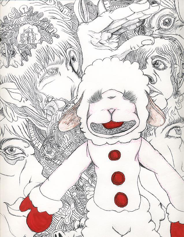 Lambchop Meets The Headeaters by Illusionsofthespleen