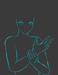 Sonic Marathon #2 Fin Pose Sketch 1/2 by sentaikick