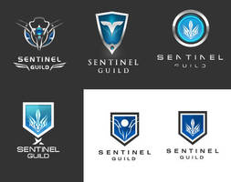sentinel guild logo by blue2x