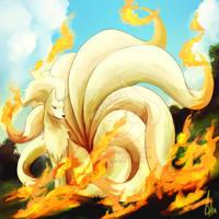 038 - Ninetales by OnixTymime