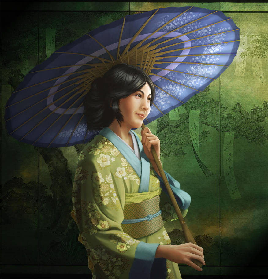 Beauty in Green by awr8305