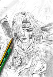 Itachi by KurohimeK