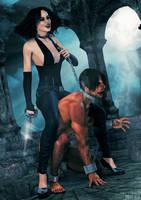 VampireMistress by MitruComix
