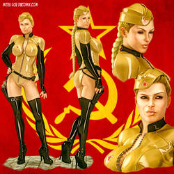 SovietGirl01 by MitruComix