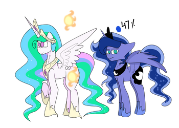 Redesign - Royal Princesses 1/2 by ThunderSpeedYT