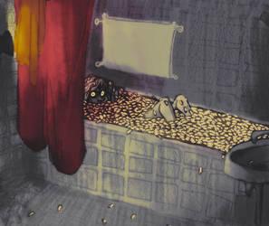 toukkakylpy by muura