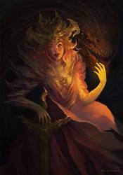 Fire stone by ArtNamia