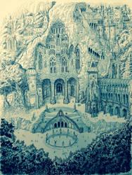 The great kingdom of Doriath. by DracarysDrekkar7