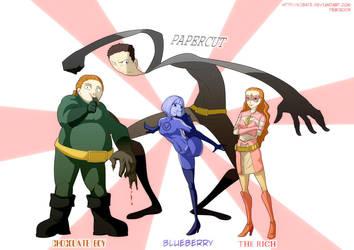 willy wonka - superheros by Kibate