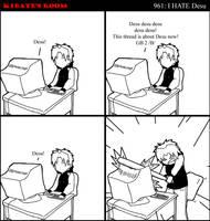 Comic - I hate desu by Kibate