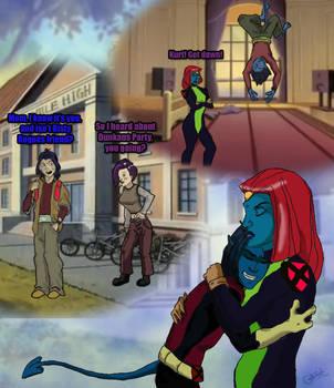 If Mystique was an x-men by zeEyebrowz