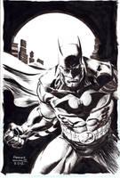 Batman by FreddieEWilliamsii