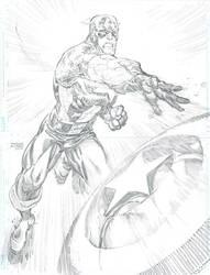 Captain America by FreddieEWilliamsii