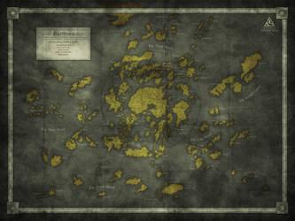 A Fan Map: Earthsea by Kellerica