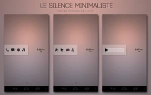 Le Silence Minimaliste by xNiikk