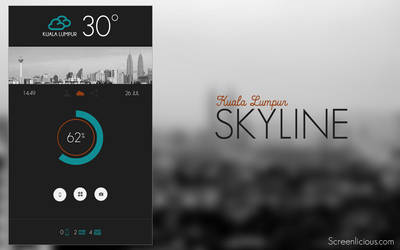 Kuala Lumpur Skyline by xNiikk