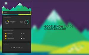 Google Now Cards by xNiikk