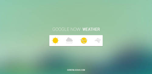 Google Now Weather by xNiikk