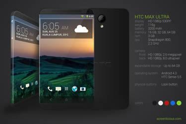 HTC MAX ULTRA CONCEPT by xNiikk