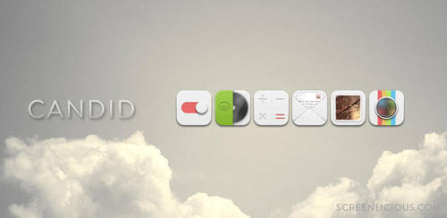 CANDID ICON PACK - FREE by xNiikk