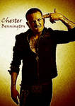 Chester Bennington by The12RZ