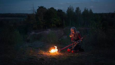 Ciri's Story : Garkain from Angren by FalkaofCintra