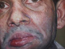 Facial Study by Andrewnewtonart