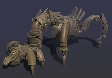 Carrion Crawler by artfulshrapnel