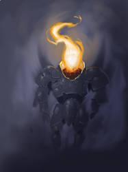 Fire Servitor by artfulshrapnel