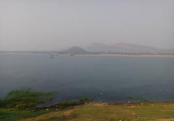 calm river  by aksheus
