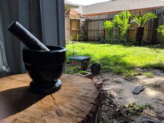 backyard by aksheus