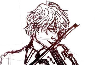 WH : Elias Violin by Scarabsi