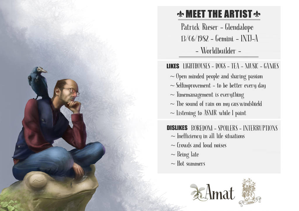 #Meettheartist by PatrickRieser