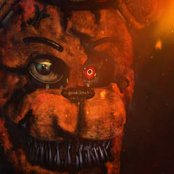 Edits| Nightmare Withered Freddy by YinyangGio1987