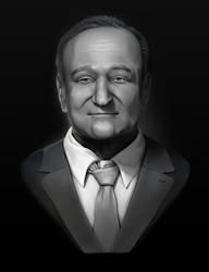 Robin Williams by MissJorru