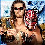 Edge and Rey Mysterio by TheElectrifyingOneHD
