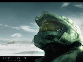 Halo 3 Wallpaper by Haleaway