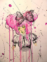 Ink Drip Lolita by OrShouldI
