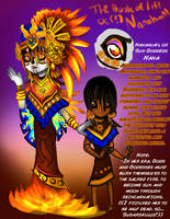 TBoL OC: Nanahuatl the Youngest Sun Goddess by toteczious