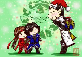SBR_Happy Christmas by dowchan