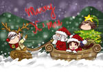 Merry Christmas .Let' go!! by dowchan