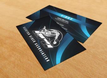 Electro Riders Biz Cards v.1 by SynergyDigital